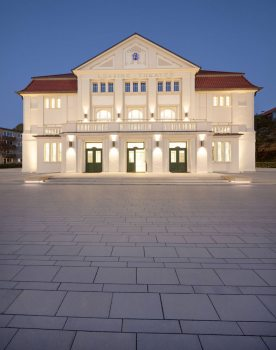Wolfenbüttel (D), Lessing Theater, Palladio 11.05, 13.03 and Concept Design 11.05.